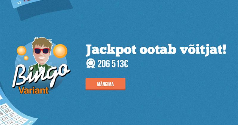 Paf Bingo - 10 bingopiletit tasuta, koguväärtusega €20