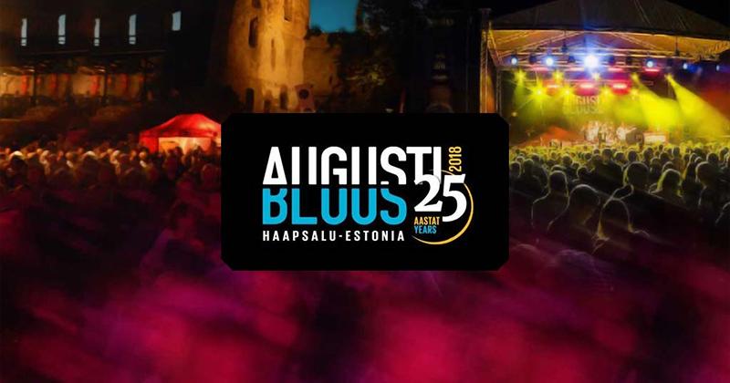 Augustibluus 2018 toimub juba 25-ndat korda 2-5. august Haapsalus. Võida Augustibluus 2018 piletid ja pakett mängides Paf bingot. Iga päev loosis 3 paketi.